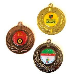 Medallas de metal